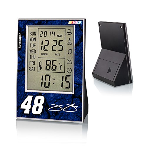 Jimmie Johnson Desk Clock officially licensed by NASCAR
