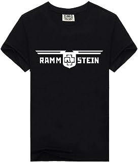 T Shirt Estate degli Uomini Oversize con Rotondità, Maglie A Manica Corta Stampato Ragazzo di Moda Casual Tee Tops Tops di Base