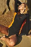 ALove Long Sleeve Rash Guard Top Women UV Shirt