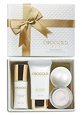 OROGOLD 24K Luxury Skin Care Set | Beauty Gift Set for Women | Leave A Little Sparkle Wherever You Go