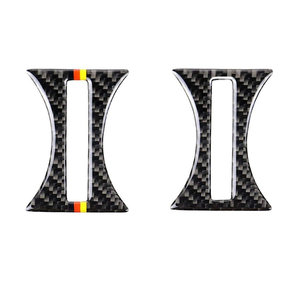 Republe Fibra di Carbonio Foderato Cup Holder Sostituzione del Pannello Lunetta per Disposizione della Copertura della Mercedes GLA//CLA A Classe