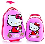 Heys America Hello Kitty Kids 2 Pc Luggage Set -18'' Carry On Luggage & 12'' Backpack