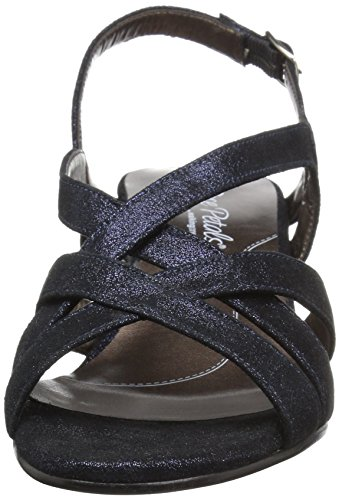 Navy Women's Lassie by Walking Sandal Cradles Petals Shimmering Rose Dress zqI6UwFwp