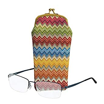 Signare Womens Tapestry Glasses Pouch Case - Multicoloured - 11cm x 20cm