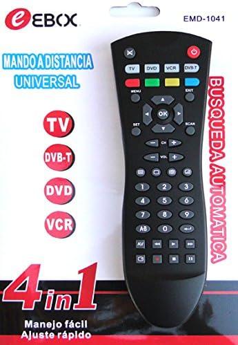MANDO A DISTANCIA UNIVERSAL 4 en 1 EMD-1041 CON BUSQUEDA ...