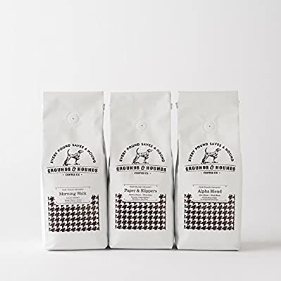 Three Blend Starter Kit -- Fair Trade & Organic Ground Coffee