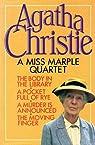A Miss Marple quartet par Christie