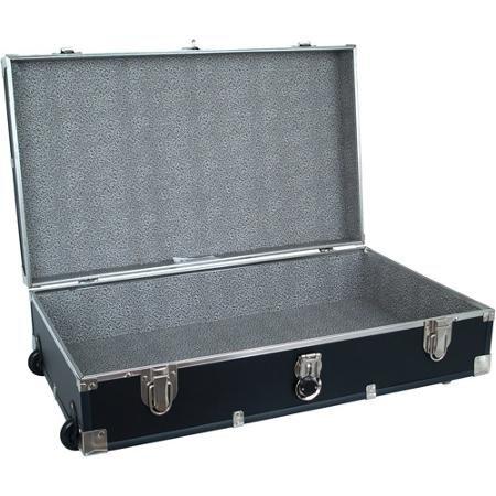 Mercury Luggage Seard Under the Bed Wheeled Storage Footlocker, 31''
