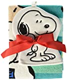 Peanuts Best Friends 2 Piece Cotton Washcloth/Bath Towel Set