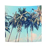YAMUDA Dorm Decorate Vivid Tapestry Wall Hanging, Apartment Decor Collection, Bedroom Living Room Dorm Tapestries (Palm)