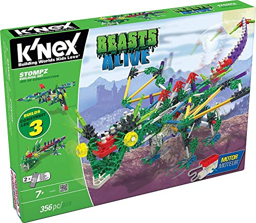 KNEX Beasts Alive - Stompz Building Set