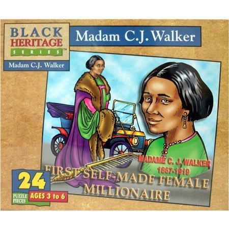 Black Heritage Series - Madam C.J. Walker - Jigsaw Puzzle - 24 ()