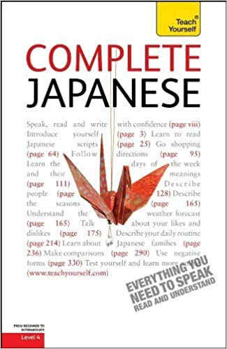 Complete Japanese: A Teach Yourself Guide (Teach Yourself Language) by Gilhooly, Helen(October 15, 2010)