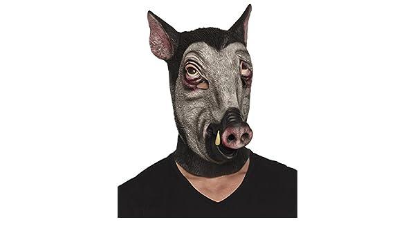 Boland 00158 Máscara de látex, jabalí, One size: Amazon.es: Juguetes y juegos