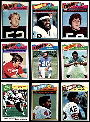 1977 topps football complete set - 5