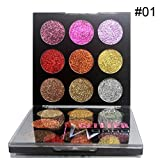 Shimmer Glitter Eye Shadow Powder, Palette Matte Eyeshadow Cosmetic Makeup
