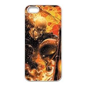 iPhone 4 4s Cell Phone Case White Ghost Rider Spirit of Vengeance OJ617402