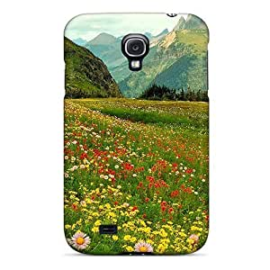 Cute PC StarFisher Alpine Wild Flowers For Case Samsung Galaxy Note 2 N7100 Cover