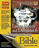 img - for Lotus Notes and Domino 6 Programming Bible book / textbook / text book