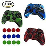 Best Covers For Xboxes - Gasili Xbox One Controller Case, 3 Pack Silicone Review