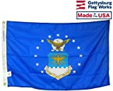 3×5′ Air Force All- Weather Nylon Outdoor Flag Made In USA