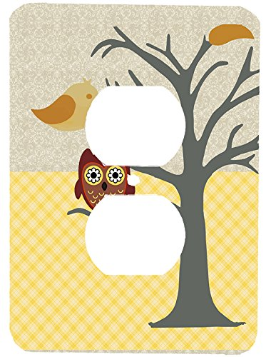 Nighty Night Owl Wall Plate Cover (outlet plug cover)