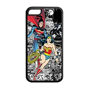 DC Comics Wonder Woman and Superman Silicone Case Cover for iPhone 6 plus