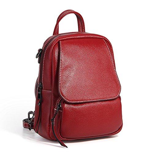 à en femme Sac Rouge Sac fashion 1906 dos portés cuir main Sac LF DISSA épaule portés YtwFHF