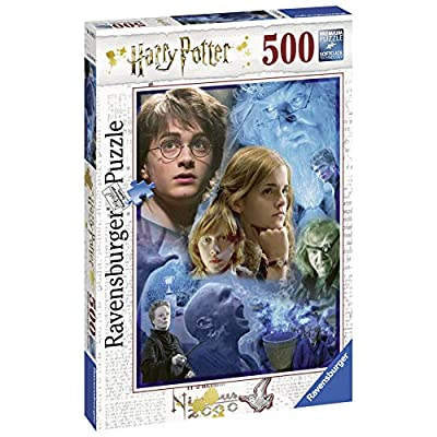 Ravensburger 14821 Harry Potter In Hogwart Puzzle 500 Pezzi