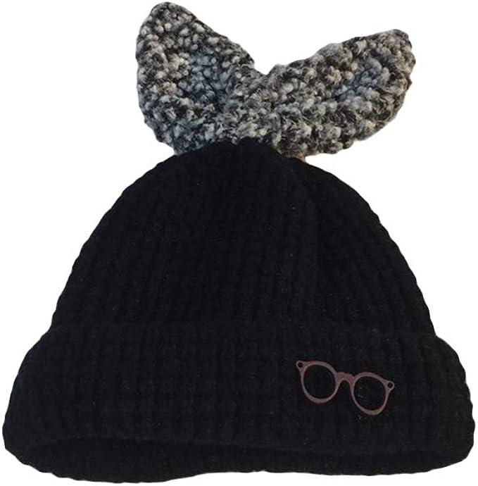Toyvian Sombrero de Invierno para niñas Sombrero de Punto cálido ...