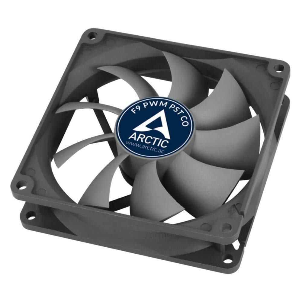 Temperatursensor reguliert RPM Temperaturgesteuerter 92 mm Geh/äusel/üfter Standard Case Fan ARCTIC F9 TC Push- oder Pull-Konfiguration