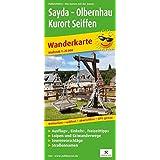 Sayda - Olbernhau - Kurort Seiffen: Wanderkarte mit Ausflugs-, Einkehr- & Freizeittipps, Loipen, Skiwanderwegen, Straßennamen, wetterfest, reissfest, abwischbar, GPS-genau. 1:25000 (Wanderkarte / WK)