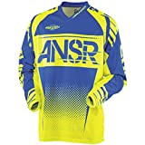 Answer Racing A17.5 Syncron Boys Off-Road Motorcycle Jerseys - Acid/Blue/X-Large