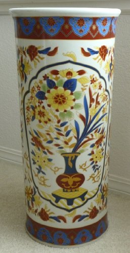 Ceramic Umbrella Stand Imari (Ceramic Umbrella Stands)