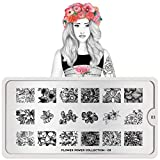 MoYou-London Nail Art Image Stamping Plate Flower Power Collection 03 US Stock