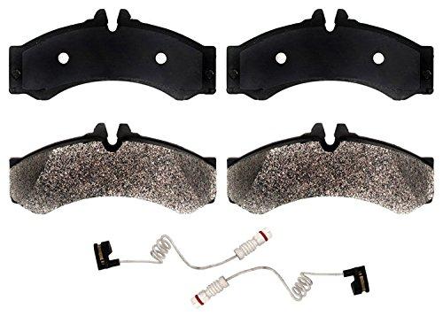 ACDelco 17D1136M Professional Semi-Metallic Front Disc Brake Pad Set (Dodge Sprinter 2500 Brake)