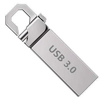 Memoria USB de 256 GB con Llavero, Resistente al Agua, a ...