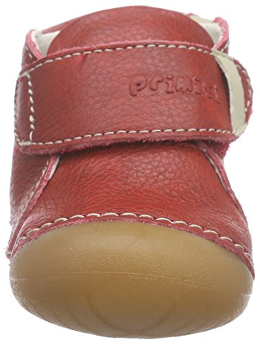 Primigi SPOT-E - Patucos de cuero para niño Rojo - Rot (ROSSO)