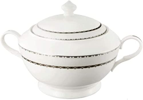 Lorenzo Import La Luna Collection Bone China Soup Tureen