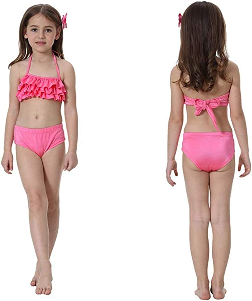 Wishliker Girls Mermaid Tails with Monofin for Swimming 4pcs