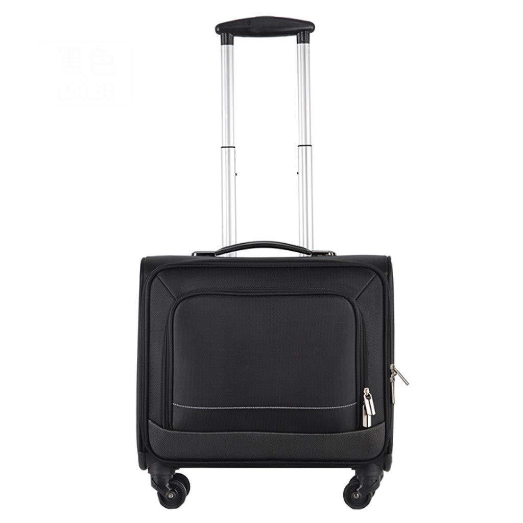 XSWZAQ-sb ユニバーサルホイールトロリーケースオックスフォード布クリエイティブ荷物搭乗荷物スーツケース B07T44XPZ1