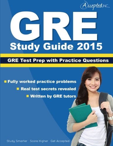 GRE Study Guide 2015: GRE Test Prep with Practice Questions