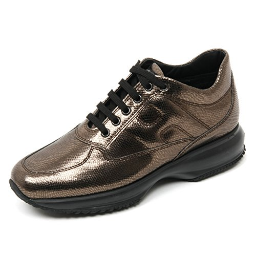 Marron B9352 Scarpa Brown Shoe Sneaker Donna Woman Interactive Hogan Awx8OOq
