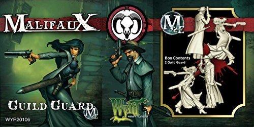 Malifaux Guild Guild Guard (2 Figures, Plastic, WYR20106) by Wyrd Miniatures