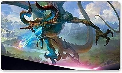 Alfombrilla de Juego The Ravager, de la Marca Yugioh Pokemon Magic, para Juegos de Mesa MTG de 60 x 35 cm: Amazon.es: Oficina y papelería