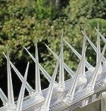 Birds Spikes Deterrent Sheet Prickle Strip Anti Bird Cat Dog Network Repellent Transparent Plastic For Birds Cats Dog, Pack Of 3, 40cm9cm8cm