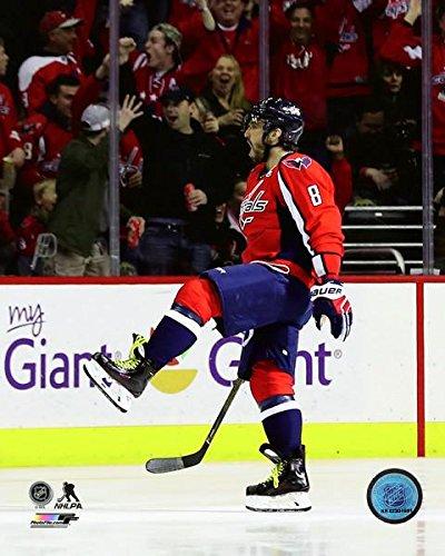 "Alex Ovechkin Washington Capitals 1000th Career NHL Point Celebration Photo (Size: 8"" x 10"")"
