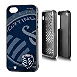 Sporting Kansas City iPhone 5 & iPhone 5s Rugged Case officially licensed by MLS for the Apple iPhone 5/5s by keyscaper® Durable Two Layer Protection Shock Absorbing