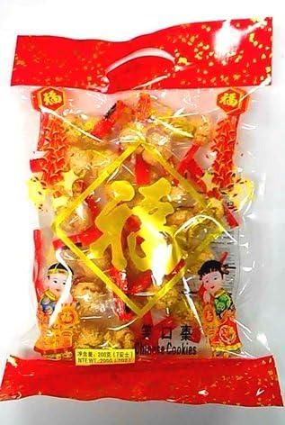 横浜中華街 旧正月(春節)、年貨♪ 笑口棗(ゴマボールクッキー)200g・年貨・お菓子・中国式・正月に欠かせない♪