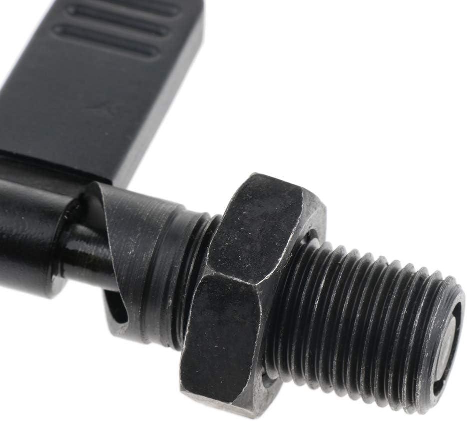 M16 /× 10 B Baosity Doigt Dindexage Type /à Levier Avec /écrou De Blocage Filetage Fin M12